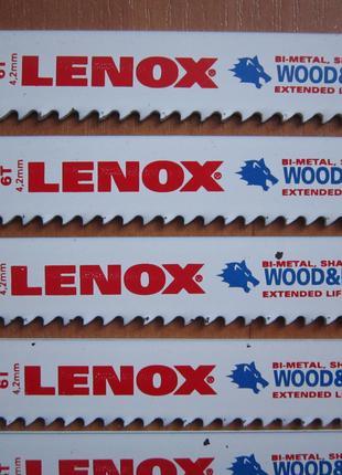 """Leno пилочки,полотна для сабельной пилы 9"""" 22см. 6 TPI"""