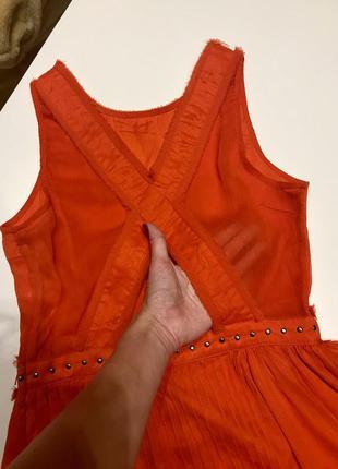 Платье guess с открытой спиной
