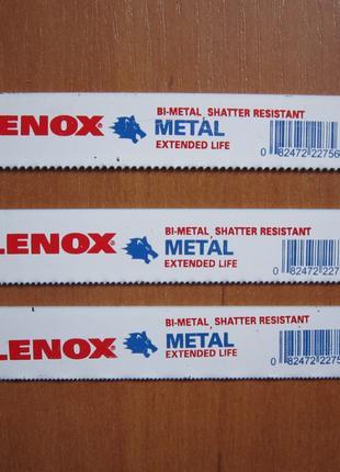 """Lenox  пилочки,полотна для сабельной пилы 6"""" 15см 14,18,24 TPI"""