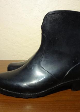 Резиновые сапожки/чобітки 36 размер