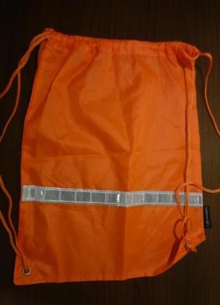 Рюкзак торба для обуви со светоотражателем
