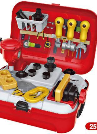 Набор детских инструментов в чемодане Набор механика детский T...