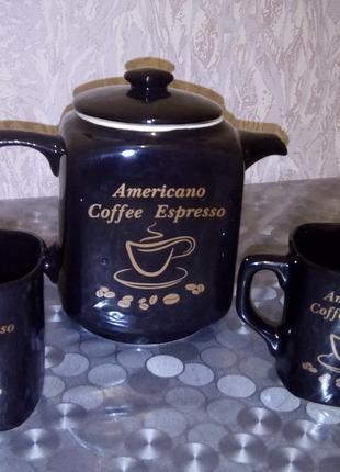 Сервиз кофейный.