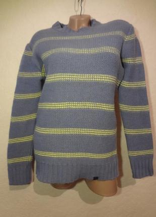 Теплющий шерстяной свитер eigenpost размер m