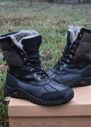 Ugg australia оригинал мужские кожаные ботинки на овце теплые ...