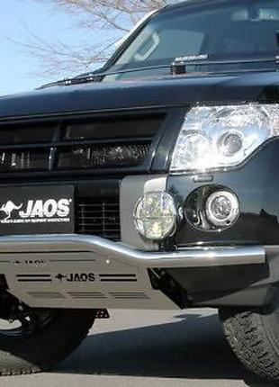 Защита переднего бампера JAOS B151328 MITSUBISHI PAJERO 06+