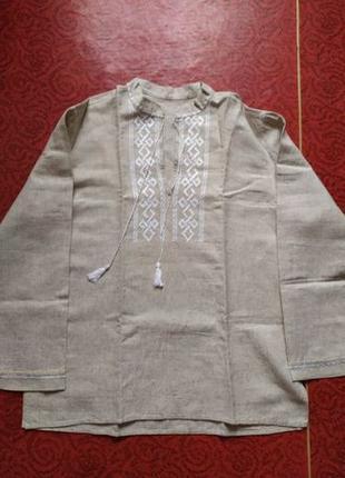 Рубашка мужская с вышивкой вышиванка