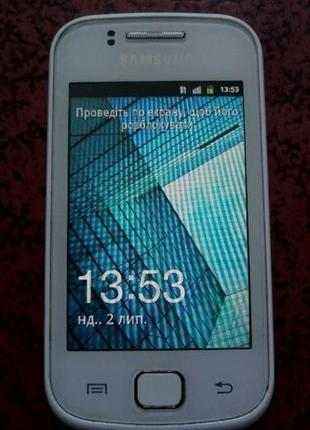 Samsung Galaxy Gio S5660 белый и черный