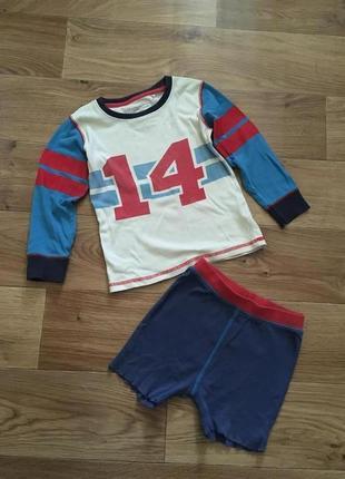 Пижама одежда для дома унисекс на 3-4 года от next