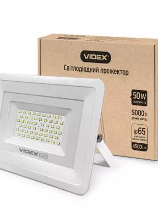 Прожектор LED  VIDEX 50W 5000K 220V