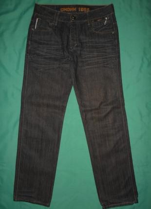 Джинсы мужские W 33 L 34 пояс 86 см