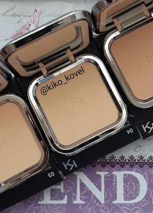 Skin tone powder foundation! компактная пудра kiko milano