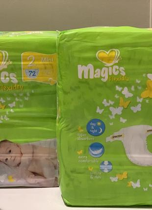 Подгузники Magics Flexidry (2-mini) 3-6 kg