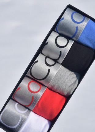 Набор мужских трусов Calvin Klein серии Steel в наборе 5 штук