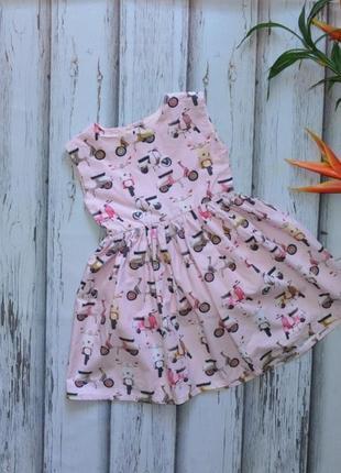 4-5 лет платье next