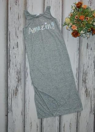 6-7 лет платье миди с разрезами f&f