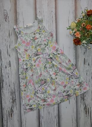 6-8 лет платье h&m