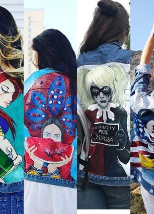Рисунки, картины, роспись одежды.