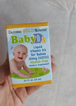Витамин d3 для малышей , 400 ме