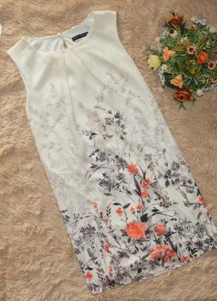Шифоновое платье в цветы atmosphere p l-xl