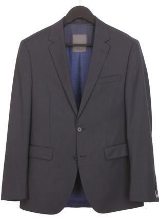 Пиджак s.Oliver Premium 100% шерсть мериноса мужской шерстяной