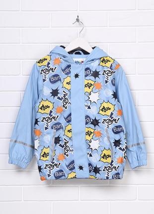 Куртка дождевик на флисовой подкладке