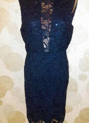 Вечернее сексуальное синее   платье на торжество ,ловим скидку