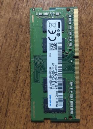 Оперативна пам'ять Samsung DDR4 SO-DIMM PC4-2400T-SC0-11