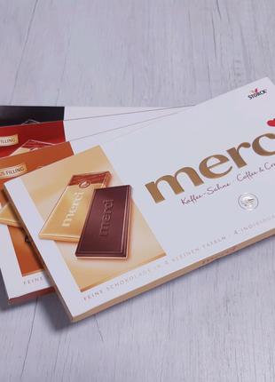 Шоколад Merci Storck Марципан Кава Нуга Апельсин Миндаль Подарок
