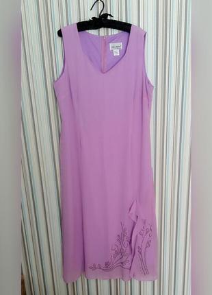 Нежное платье antony richards на 52-54 размер
