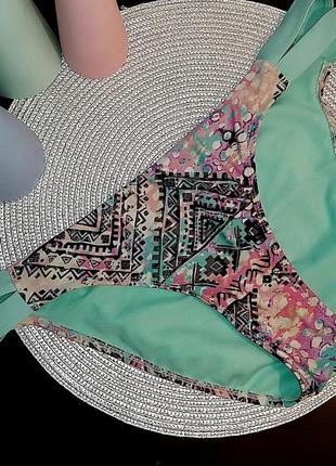 Плавки ментолового цвета tini bikini14-16 размер