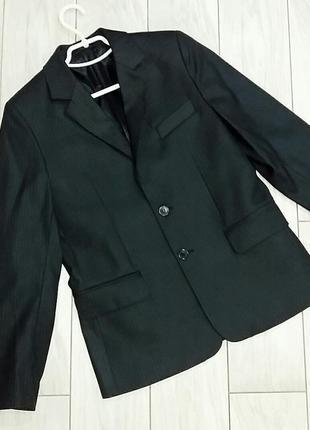 Пиджак для мальчика в полоску 12-14 лет