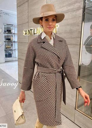Пальто женское на подкладке