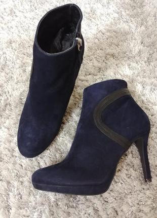 Шикарні черевички bluette від minelli нат.замш р.38.