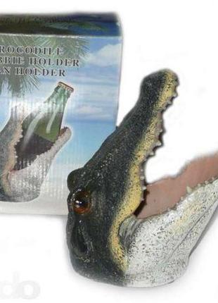 "Подставка под бутылку ""Крокодил"""