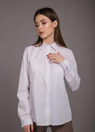Свободная женская рубашка, вискоза