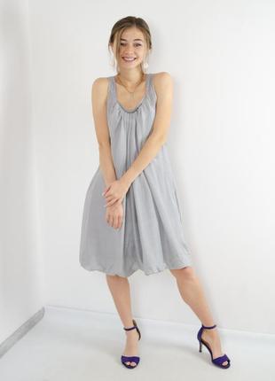Day birger et mikkelsen роскошное шелковое платье с глубоким в...