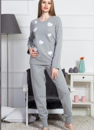 Теплая пижама на байке vienetta secret
