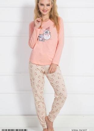 Пижама штаны с кофтой ,трикотажная vienetta secret