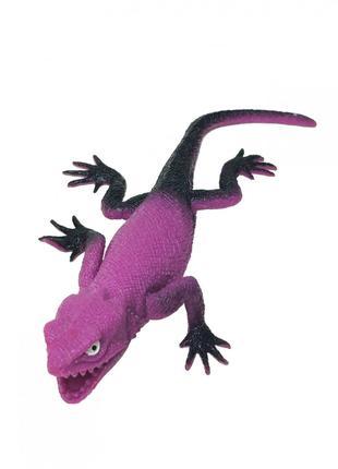 Рептилии Гонконг A052P-1/2/3 тягнучка (Ящерица Фиолетовая)