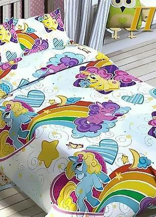 Детское постельное my little pony