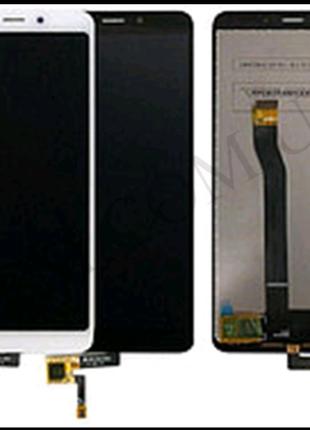 Дисплей (LCD) Xiaomi Redmi 6/ Redmi 6A с сенсором белый и черный