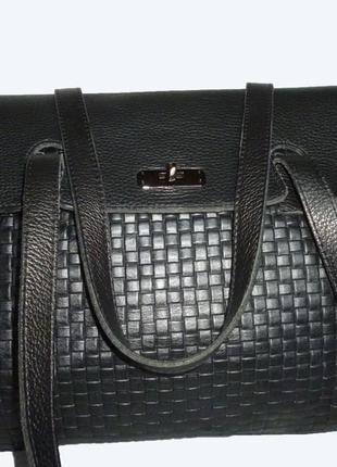 Стильная большая  сумка  натуральная кожа германия c&a