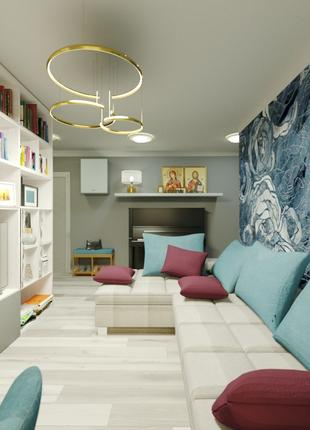 Дизайн квартир, домов