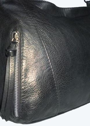 Стильная вместительная сумка   натуральная кожа  borse in pell...