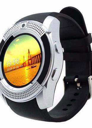 Смарт часы Smart Watch V 8 Silver