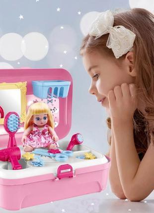 Салон красоты для девочки Игровой набор парикмахер