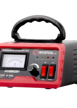 Зарядное устройство АКБ 6/12В, регулировка силы тока 0-10А