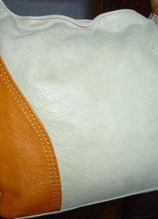 Стильная сумка натуральная кожа vera pelle италия