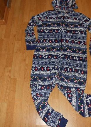 Пижама-человечек р.l